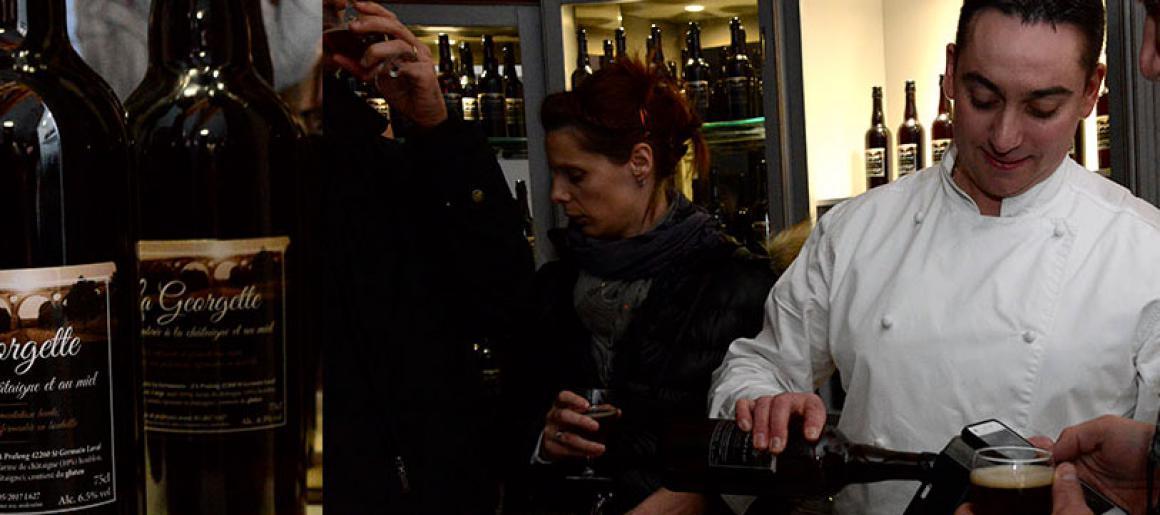 """Lancement de la bière """"La Georgette"""""""