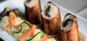 Croustillant de Volaille aux figues sauce cidre
