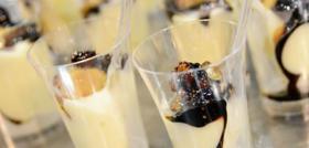 Emulsion de cerfeuils tubéreux, balsamique et foie gras
